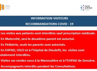 INFORMATIONS VISITES AUPRES DES PATIENTS